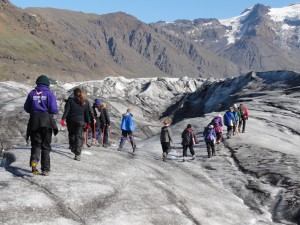 QG8 Glacier Hiking walk
