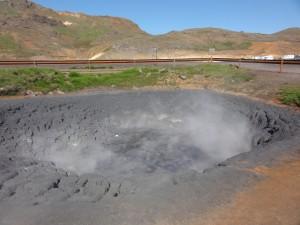 seltun mud pool geothermal reykjanes geology