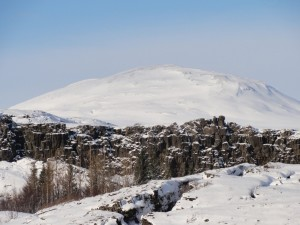 Mid-Atlantic ridge winter ice golden circle
