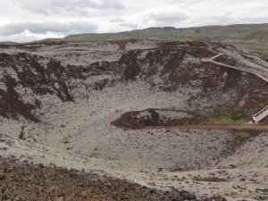 Grabrok.crater west iceland geology