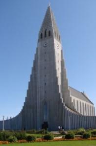 Hallgrimskirkja.landscape reykjavik