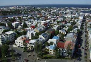 reykjavik.rooftops.and.street.scene.summer