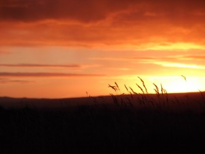 Sunset at Eyrrabakki South Iceland