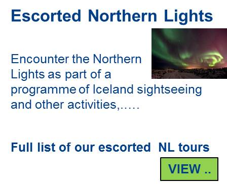 All Northern Lights tours