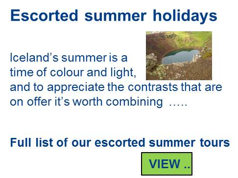 All escorted summer holidays