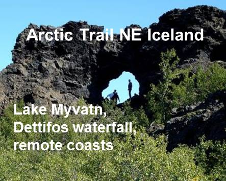 Arctic Trail in North East Iceland