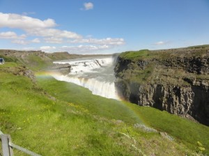 gulfoss summer