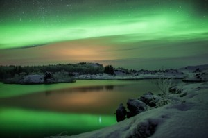 winter northern lights 1