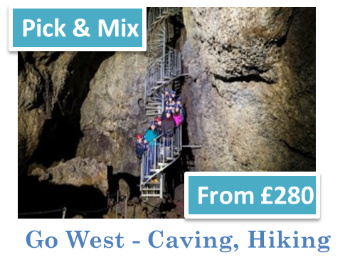 Go West - Caving, Hiking