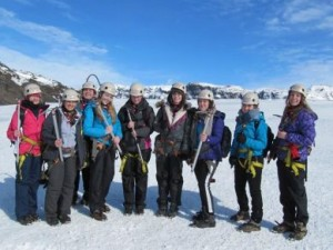 rangers glacier group ice