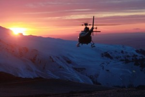 Helicoptor Sunset.ride