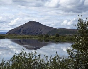 myvatn lake north iceland